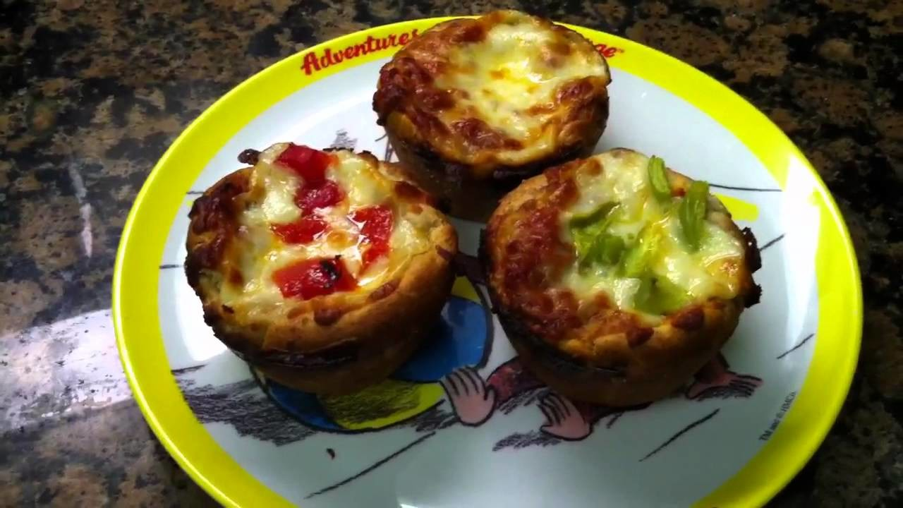 Toddler Meal Idea: Mini Pizza Cupcakes