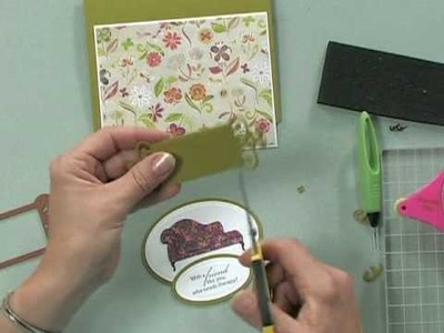 Using a Tag Die as a Decorative Element