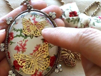 Vintage.Shabby Chic Jewelry for Embellies.Charms from Claire's