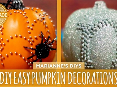 3 Easy DIY Pumpkin Decorations - HGTV Handmade