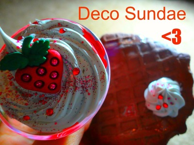╰☆Deco Cupcakes and Sundaes In The Making! [Part 1]☆╮