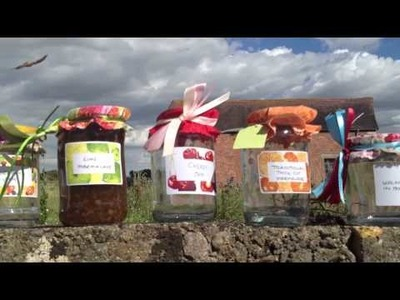 Decorated Jam Jars and Bottles