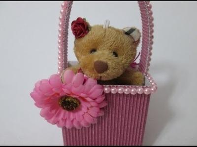 DIY : #25 Cute Door Gift Basket ♥