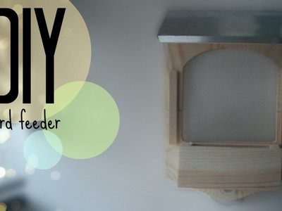 DIY| Build your own bird feeder kit | CuteNailPolishArt