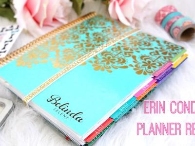 Erin Condren Planner Review | Belinda Selene
