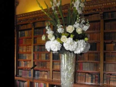 Flowers By John Meyburgh. . Elegant and Spectacular Wedding Flowers - Highclere Castle, 15 May 2009