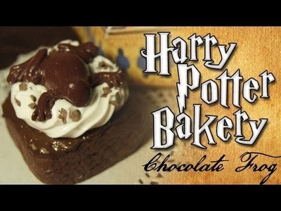 Harry Potter Clay Bakery: Chocolate Frog Brownie
