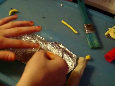 How to make a banana out of polymer clay!