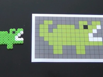 How to Make a Cute Perler Bead Gator
