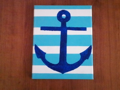 How to Make An Anchor Painting
