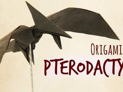 How to make an origami Pterodactyl (Tadashi Mori)