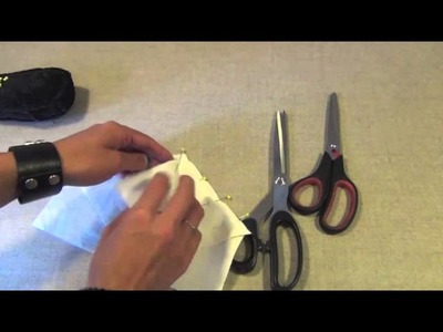 How To Sew Pointy Seams Together