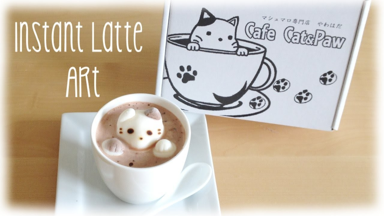 Instant 3D Latte Art - Fast & Easy Cafe Cat
