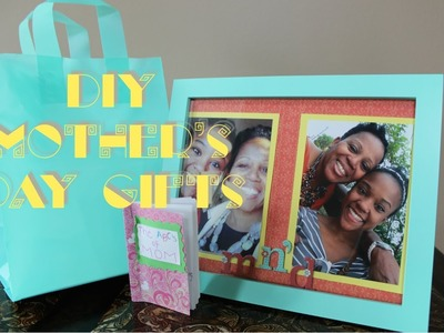Last Minute DIY Mother's Day Gifts!