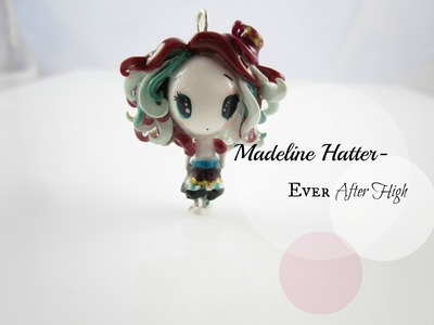 Madeline Hatter (Ever After High) Polymer Clay Chibi Charm