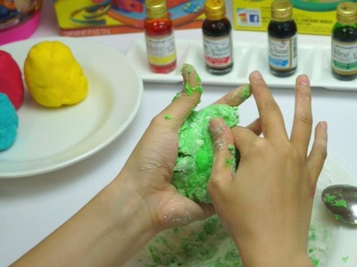 Play Doh Clay - How to make at Home DIY Very Easy Part 2