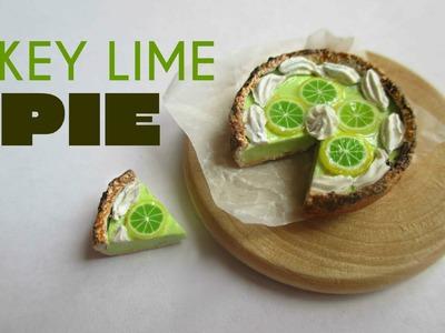 Polymer Clay Key Lime Pie Tutorial (Miniature Mondays)