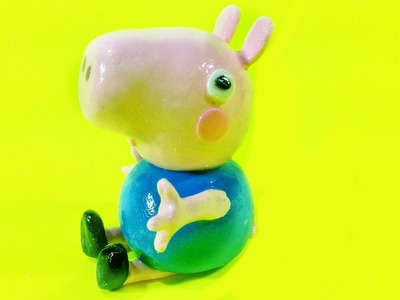Polymer Clay Tutorial Peppa Pig Brother George Charm