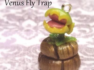 Polymer Clay Tutorial: Venus Fly Trap