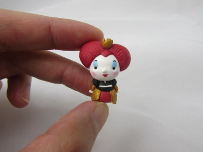 Queen of Hearts Chibi Polymer Clay Tutorial