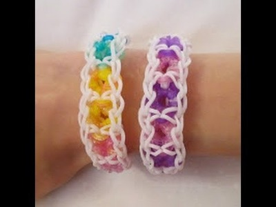 Rainbow Loom- How to Make a Fruit Loop Bracelet (Original Pattern)