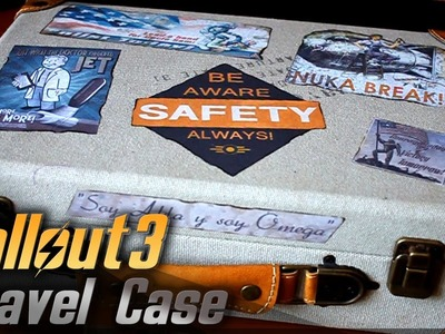 Travel Case. Fallout 3. Props Travel Kit Tutorial
