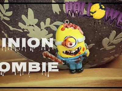 TUTORIAL 6#  Minion zombie polymer clay - HalloweenTime