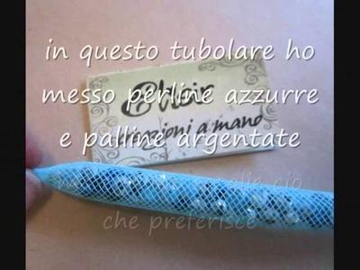Tutorial Elisir Bijoux - bracciali con rete tubolare - tubular net  bracelet