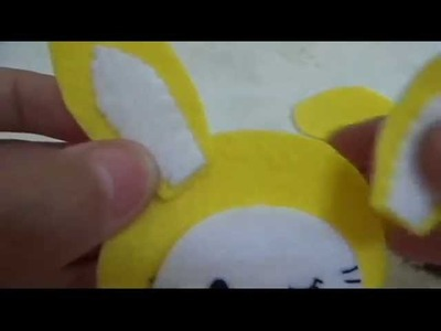 Tutorial : How to make a Hello Kitty in a bunny costume Plushie
