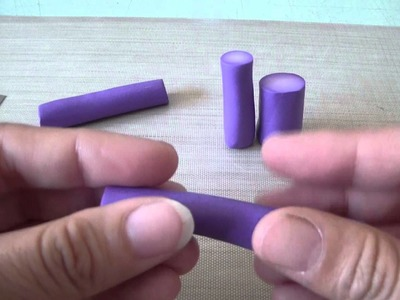 Tutorial How To Reduce A Polymer Clay Circle Cane