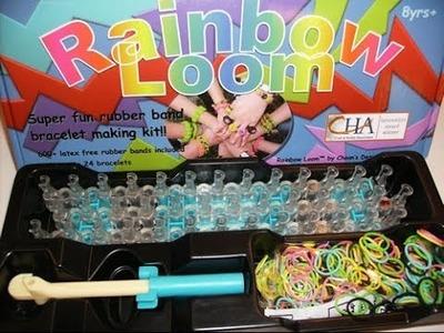 Unboxing Rainbow Loom Kit