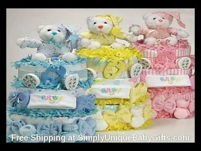 Unique Baby Shower Cakes Make Great Diaper Cake Gifts