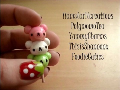 Collab Tutorial Day 7 of 7: How to Make a Rilakkuma Dango