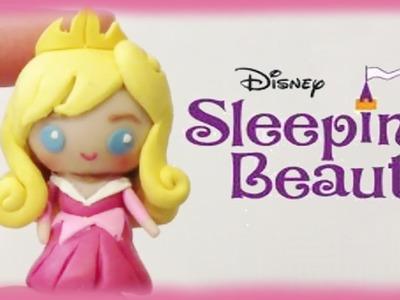 Disney Sleeping Beauty Princess Aurora Chibi Clay Tutorial