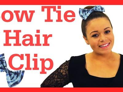 DIY Bow Hair Clip + Life Hack for Shiny Hair! #17daily