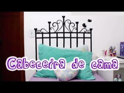 DIY: Cabeceira de cama gastando pouco!