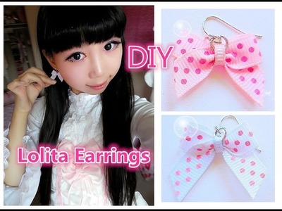 DIY - Make your own Earrings and Tiny Bows