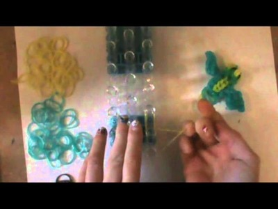 How to make a bird on the rainbow loom part 2