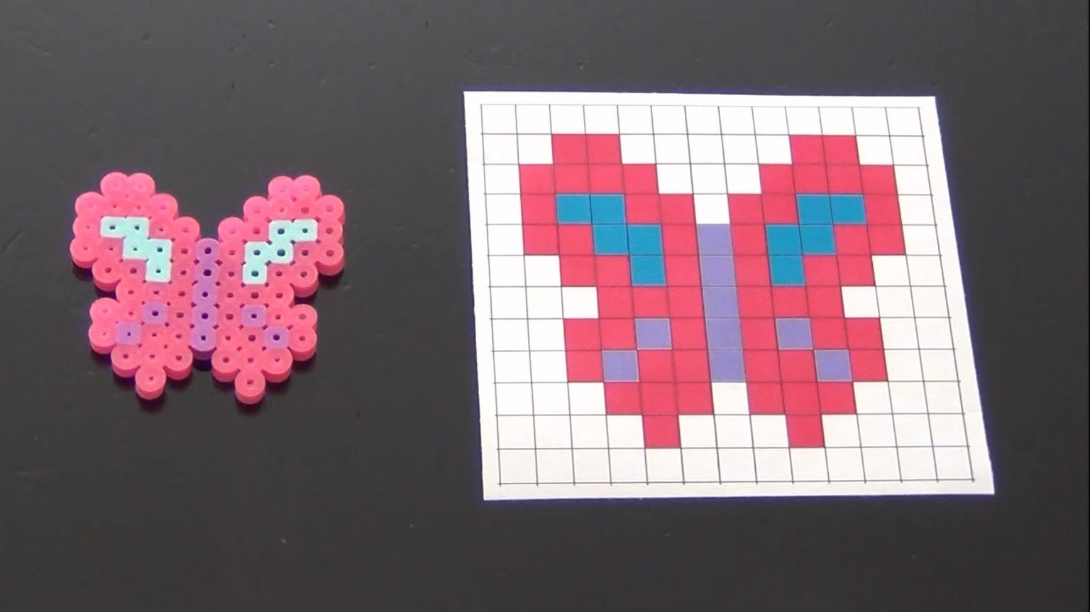 How to Make a Cute Perler Bead Butterfly