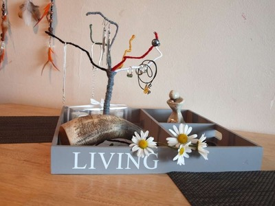 How To Make A Tree-jewelry Holder - DIY  Tutorial - Guidecentral