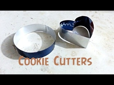How to make Cookie Cutters