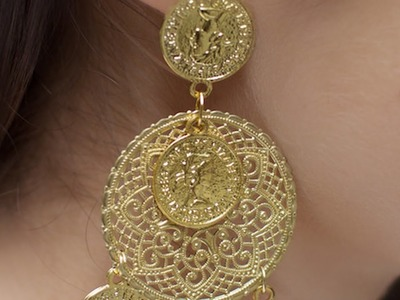 How To Make Stylish Coin Earrings - DIY Style Tutorial - Guidecentral