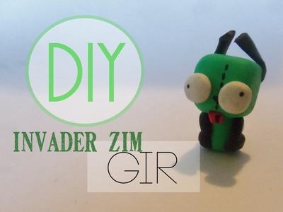 Invader Zim Gir Tutorial [Polymer Clay]