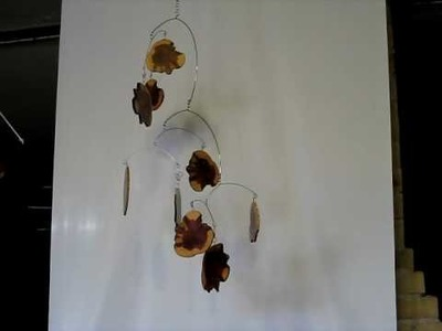Kinetic Hanging Mobile Art - Hunting Logde Mobile - Artistic Sculpture by Skysetter Designs