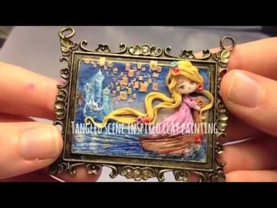 Mondoinundito polymer clay chibi charms, special guest, tutorial girls