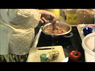 Nancy Today: Denver omlet how to ASMR Cooking Funny