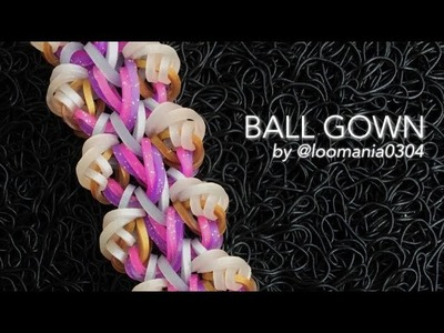 BALL GOWN Hook Only bracelet tutorial