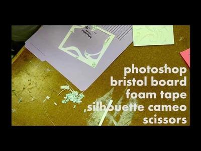 Bristol Paper Art Creation Timelapse