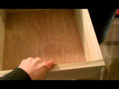Building a bureau out of hard maple for Jordan