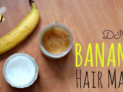 DIY Banana Mask For Dry Hair